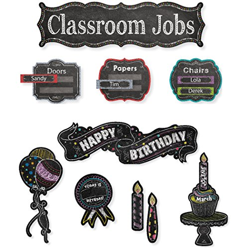 Creative Teaching Press CTP8905 Chalk It Up Mini Bulletin Board Pack, Grade: 12 to kindergarten (Pack of 105)