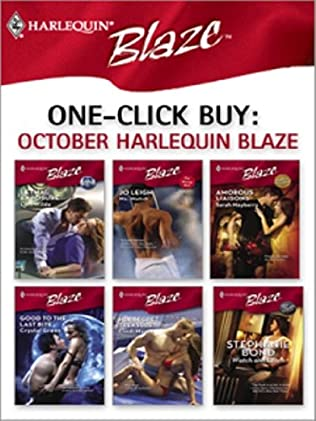 book cover of One-Click Buy: October Harlequin Blaze