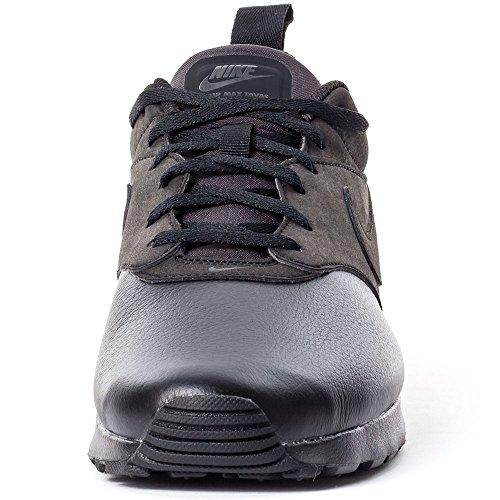 Nike Air Max Tavas LTR Herren Laufschuhe Negro (Black / Black-Black)