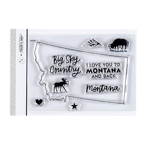Studio Calico I Love Montana Clear Stamp Set