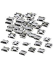 Prettyia USB Standard Micro Port Female Solder Plug 5 Pin SMD SMT Jack Socket Connector, 10/12/24 Models - 12 Models Each 5pcs