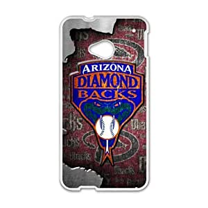 MLB Arizona DiamondbacksCustom Case forHTC One M7(Laser Technology)