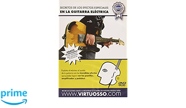 Amazon.com: Virtuosso Special effects in Electric Guitar ...