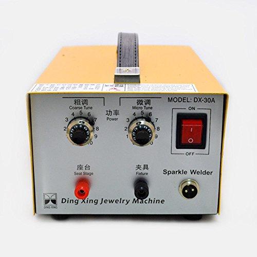 110V 200W Mini Spot Welder Portable Spot Welding Machine Jewelry Tool DX-30A