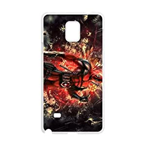 Deadpool Samsung Galaxy Note 4 Cell Phone Case White Gift pjz003_3378780