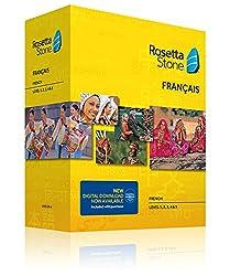 Rosetta Stone Learn French - Level 1-5 Set