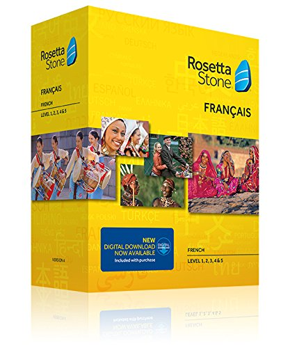 Learn French  Rosetta Stone French   Level 1 5 Set