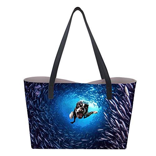 Dog femme main Sac pour Nopersonality Underwater à L UBFxw