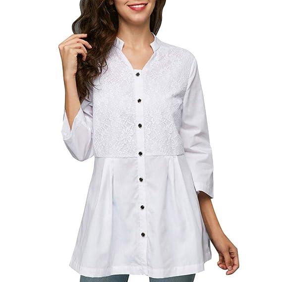 Modas de blusas en chifon combinadas