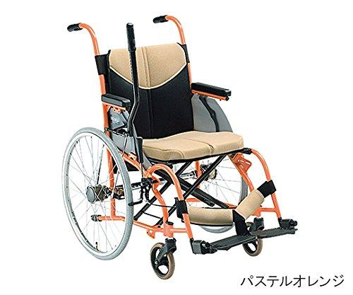 松永製作所7-2252-01ワンハンドスカル(アルミ製レバー駆動型)パステルオレンジ400mm B07BD33R6D