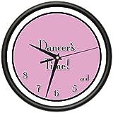 DANCER'S TIME! Wall Clock ballet ballet shoes instructor teacher dancer gift