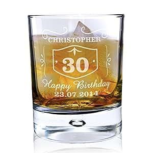 Classic Whisky de cristal estilo Bubble. Este es un producto de calidad personalizable que se puede requisitos del (consulte discription principal para una total detalles) Ideal de regalos y Regalos para bodas, bautizos, cumpleaños, etc de Navidad...