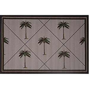 51vZXO%2BXn9L._SS300_ Palm Tree Area Rugs and Palm Tree Runners