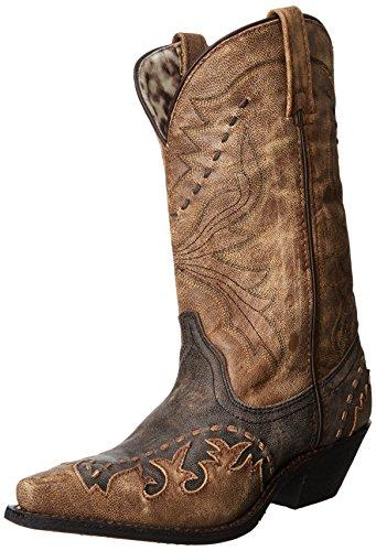 Laredo Womens Cullison Boot Black/Tan ccNoMVGnKi