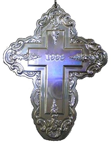 1998 Wallace Grande Baroque Cross Sterling Christmas Ornament 3rd Edition
