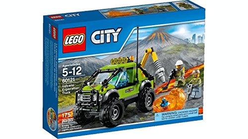 LEGO City 60121 - Vulkan-Forschungstruck