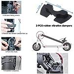 Kyrio-Scooter-Accessori-Set-Parafango-Posteriore-Staffa-Vibrazione-Ammortizzatore-Guarnizione-di-Protezione-Alimentazione-Copertura-Gancio-per-Xiaomi-Mijia-M365-M365Pro-Scooter-Elettrico