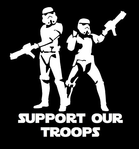 UR Impressions Storm Troopers Support Our Troops Decal