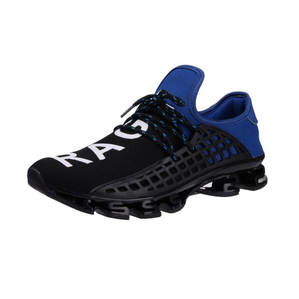 YAYADI Herren Sport Laufschuhe Schnüren Übung Paar Turnschuhe Atmungsaktives Mesh Schreiben Schuhe Turnschuhe Für Männer