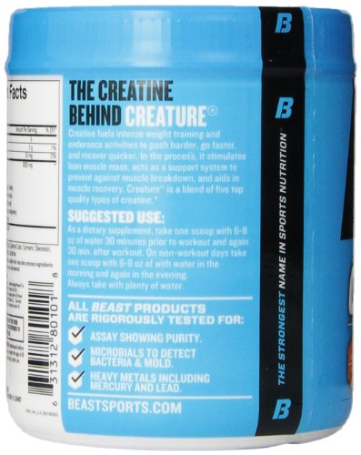 Beast Sports Nutrition, Creature Creatine Complex, Citrus, 10.5 Ounce