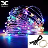 Dripping colors 10 m 100 USB Operated LED String Lights (Multicolour)