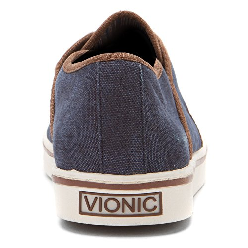 Wheat Blu 7 blu Bryson Vionic Canvas Mens Sneaker ISnZz