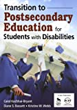 img - for Transition to Postsecondary Education for Students With Disabilities book / textbook / text book