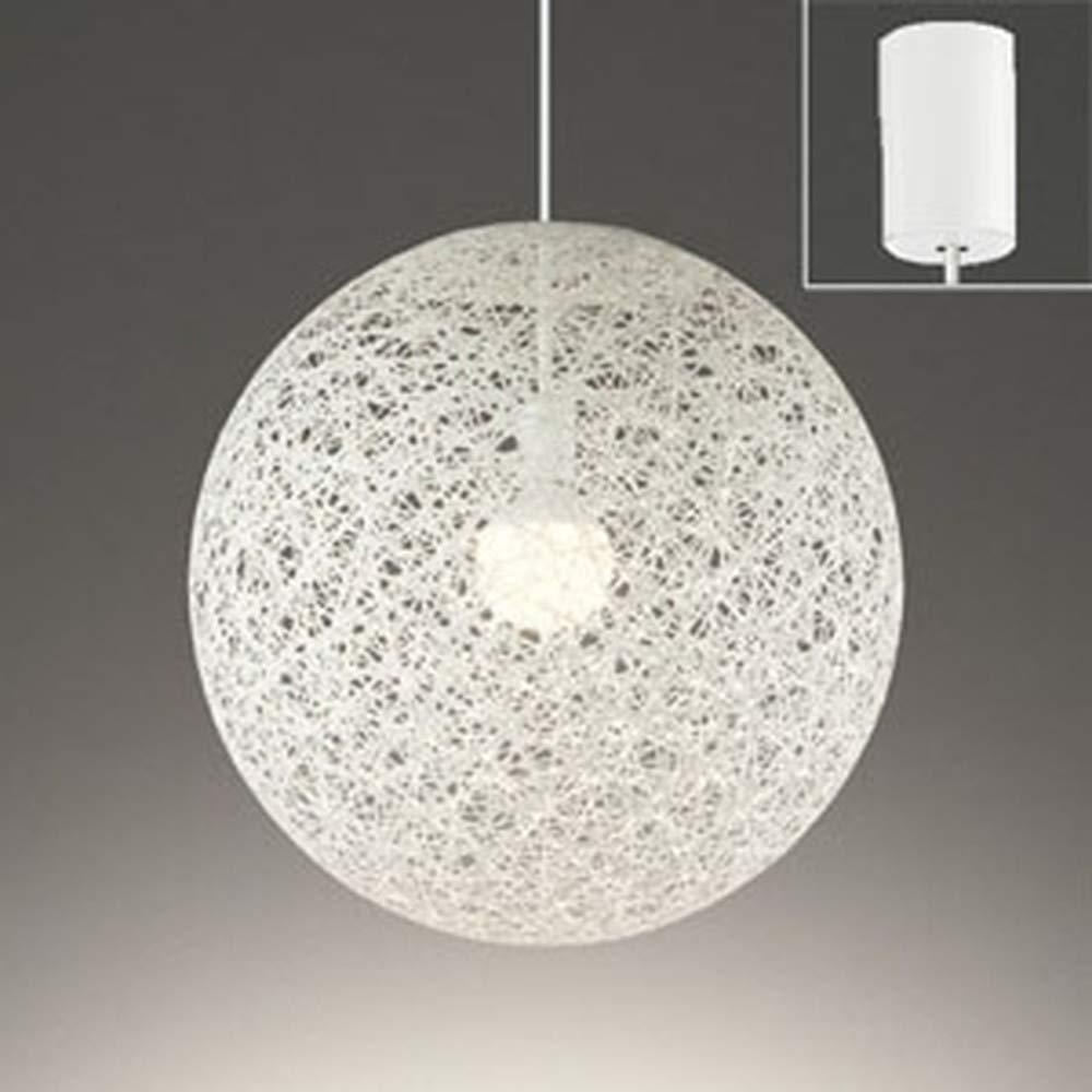 ODELIC オーデリック LEDペンダントライト フレンジ 樹脂糸 巾φ495 白 電球色 OP252331LD B003M3Q4Q6