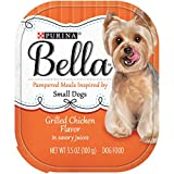 Purina Bella Savory Juices Bundle of Joy Grilled Chicken Flavor Wet Dog Food – Twenty-Four (24) 3.5 oz. Trays