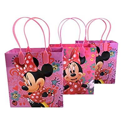 Mickey & Minnie Mouse Mixed Goodie, Favor, Gift Bags 24 Pieces: Toys & Games
