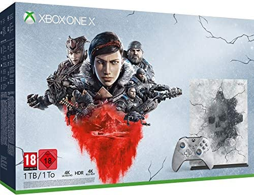 Console Edition Limitée - Gears 5 ultimate pour Xbox One X [Importación francesa]: Amazon.es: Videojuegos