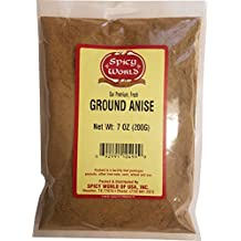 Spicy World Ground Anise Powder 7 Ounce