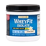 Cheap Fitness Labs WheyFit Isolate – 100% Whey Protein Isolate (5 Ounces, Creamy Vanilla)