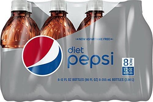 Diet Pepsi Bottles Aspartame Free product image