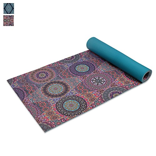 Trideer High-Density Yoga Mat Premium Printed 1/4