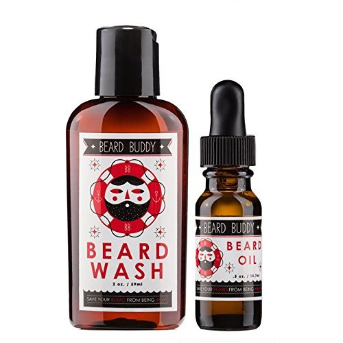 Beard Buddy - All Natural and Organic Starter Pack - 2 oz. B