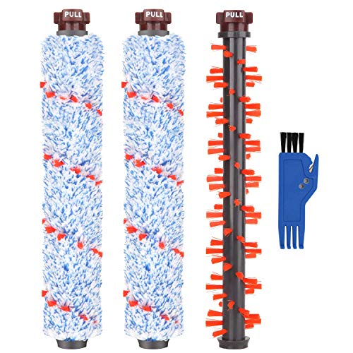 Brush Roll Roller Brush - Mochenli 2 Multi-Surface 1868 Brush Rolls + 1 Area Rug Brush Roller 1934 Replacement Compatible with Bissell Crosswave 1785 2303 2305 2306 Series Vacuums Part.