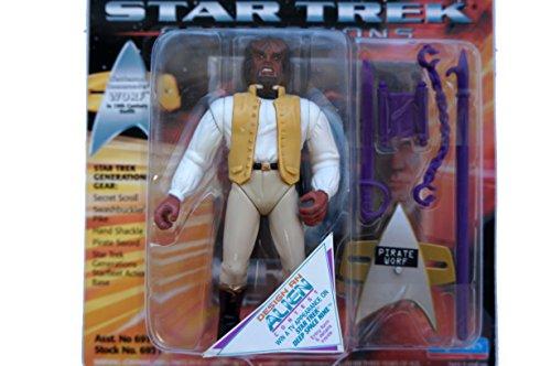 Amazon.com: Star Trek generaciones Comandante teniente Worf ...