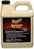 ultimate wax - Meguiar's Mirror Glaze Synthetic Sealant 2.0 – Advanced Shine & Protection for Your Car – M21, 64 oz