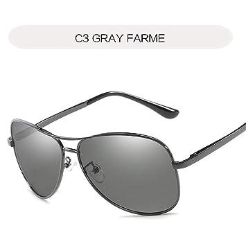 QDE Gafas de sol Gafas De Sol Hombre Gafas De Sol ...