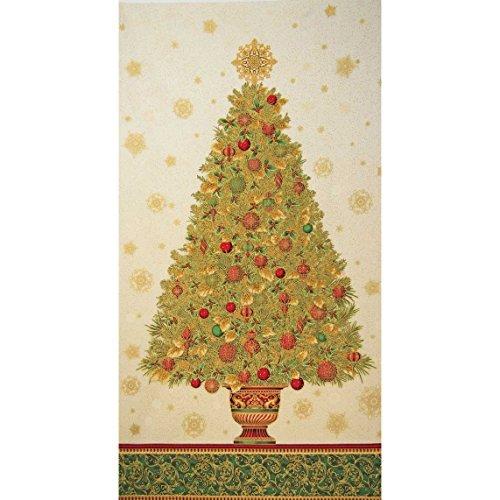 Robert Kaufman Winter's Grandeur Holiday Christmas Tree 24