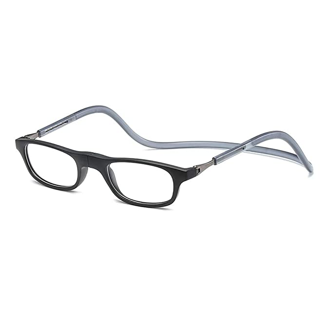 057e9c5a76 ... Gafas de Lectura Dioptria; Graduadas +3.50 Dioptrías Montura Hombre  Mujer Imantadas Plegables Lentes Aumento Leer Ver Cerca Cuello Imán:  Amazon.es: Ropa ...