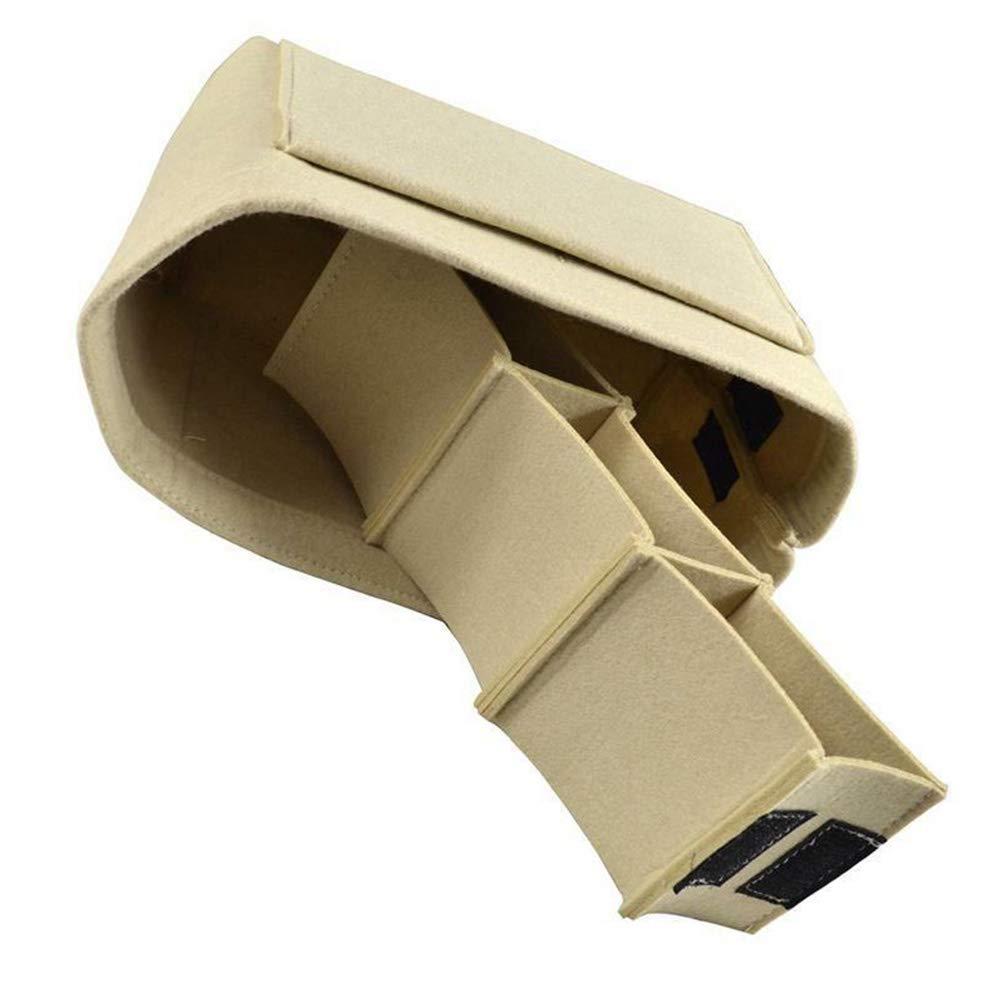 organiseur de sac /à main sac fourre-tout pour femme sac de voyage Organiseur de sac /à main en feutre sac de rangement pour cosm/étiques 2 tailles gris gris M 10 poches