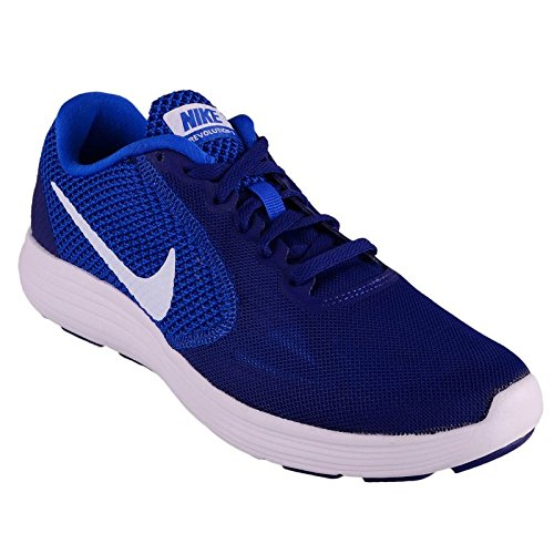 bde52b0b7f5 Nike Men s Revolution 3 MSL Sports Running Shoe-Uk-8  Buy Online at ...