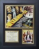 Legends Never Die Wizard of Oz Movie Art Framed Photo Collage, 11x14-Inch