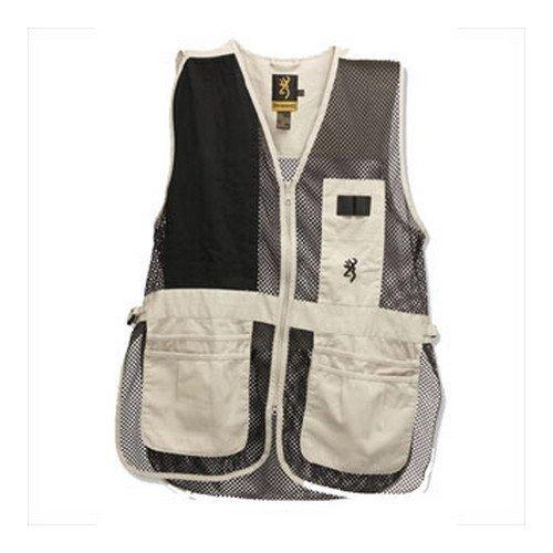 Shooting Vest Cloth (Browning, Trapper Creek Vest, XXX-Large, Sage/Black)