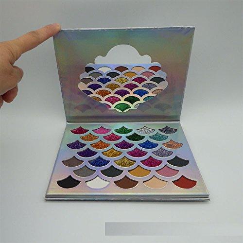 Ari_Mao Super Mermaid 32 Colors Matte and Pearl Eye Shadow Plate Cosmetic Makeup Eye Shadow