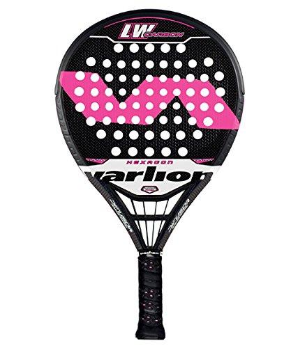Pala de pádel Varlion LW Carbon Hexagon Difusor fucsia 2015: Amazon.es: Deportes y aire libre