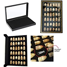 Epic Gear Civil War Bullet Relic Display Case - Hold 36 Civil War Bullets (Bullets NOT Included)