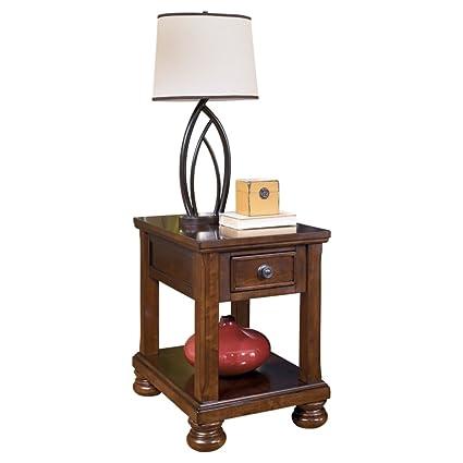 Amazoncom Ashley Furniture Signature Design Porter End Table